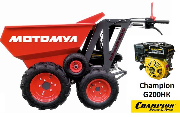 Mini dumper МТ-300.CH with Champion G200HK engine